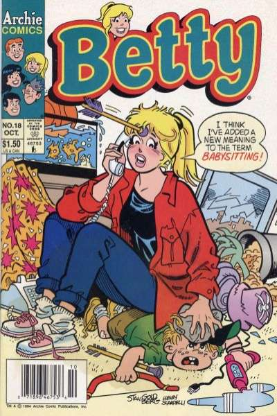 Betty #18 Comic Books - Covers, Scans, Photos  in Betty Comic Books - Covers, Scans, Gallery