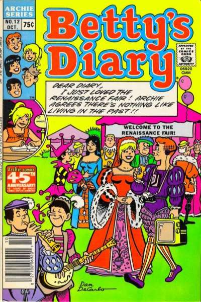 Betty's Diary #12 comic books for sale