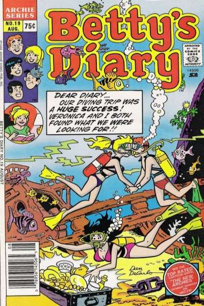 Betty's Diary #19 comic books for sale