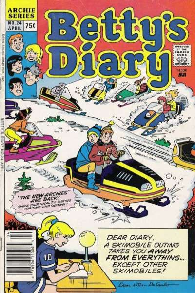 Betty's Diary #24 comic books for sale