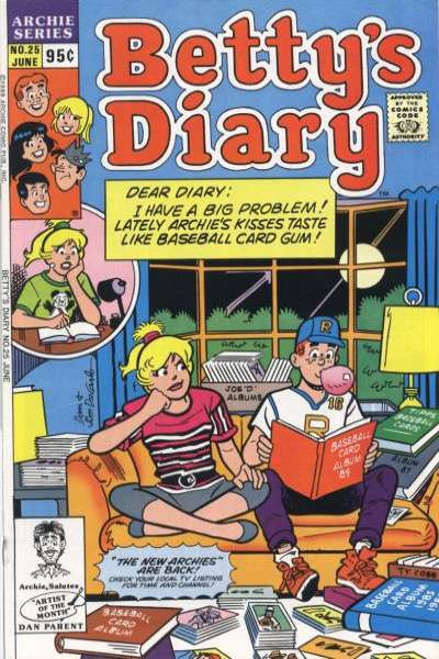 Betty's Diary #25 comic books for sale