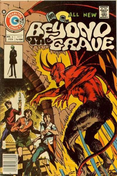 Beyond the Grave #4 comic books - cover scans photos Beyond the Grave #4 comic books - covers, picture gallery