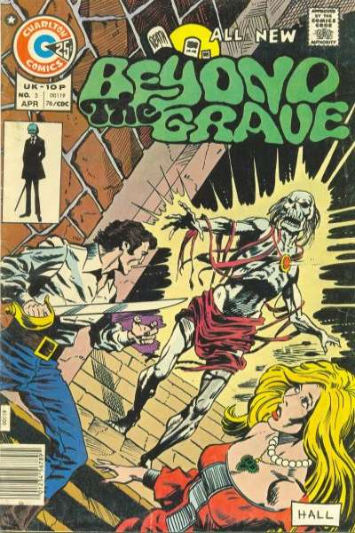 Beyond the Grave #5 Comic Books - Covers, Scans, Photos  in Beyond the Grave Comic Books - Covers, Scans, Gallery
