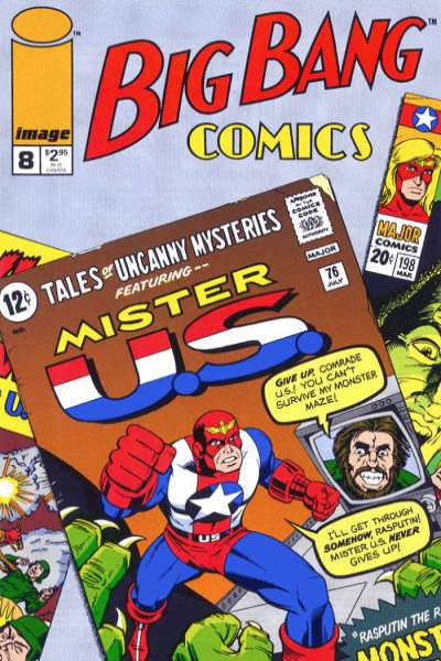 Big Bang Comics #8 comic books for sale