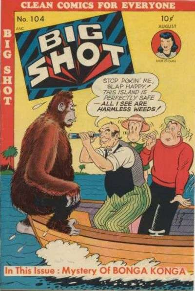Big Shot Comics #104 comic books for sale