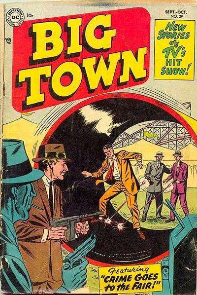 Big Town #29 comic books for sale