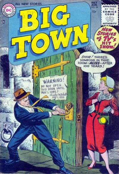 Big Town #34 Comic Books - Covers, Scans, Photos  in Big Town Comic Books - Covers, Scans, Gallery