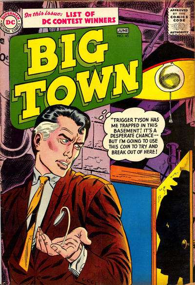 Big Town #45 comic books for sale