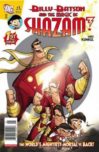 Billy Batson and the Magic of Shazam! #1 comic books - cover scans photos Billy Batson and the Magic of Shazam! #1 comic books - covers, picture gallery