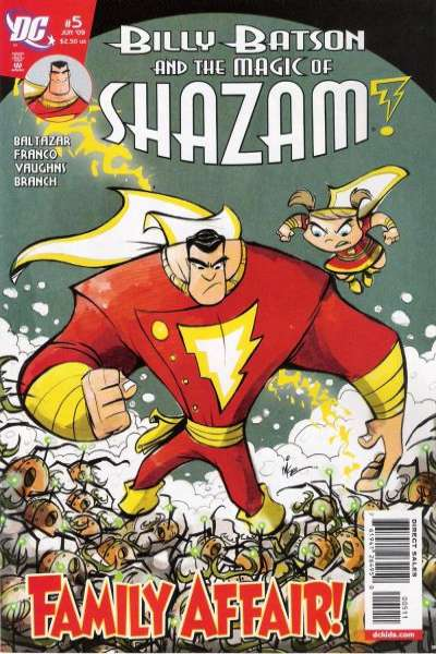 Billy Batson and the Magic of Shazam! #5 comic books for sale