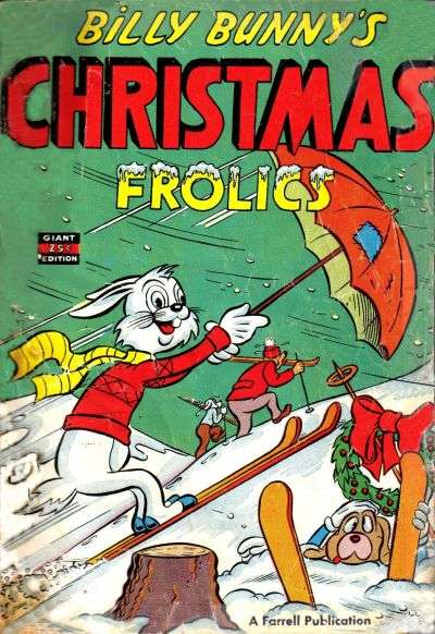 Billy Bunny's Christmas Frolics comic books
