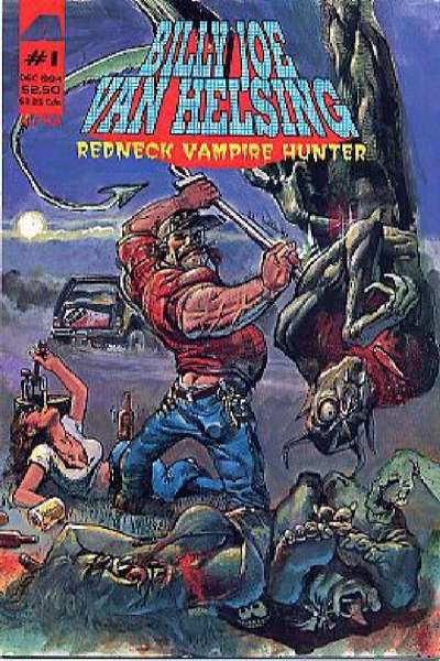 Billy Joe Van Helsing: Redneck Vampire Hunter #1 comic books - cover scans photos Billy Joe Van Helsing: Redneck Vampire Hunter #1 comic books - covers, picture gallery