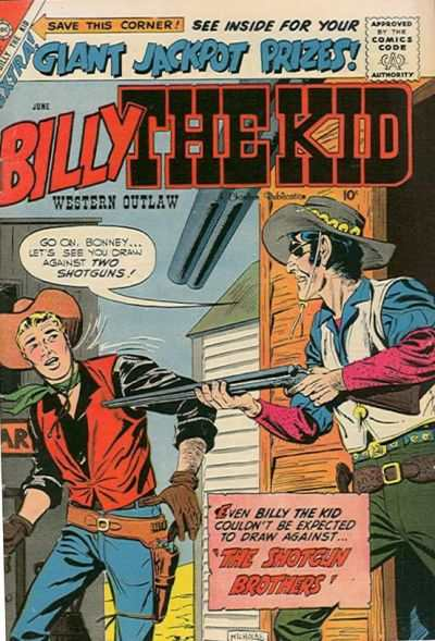 Billy the Kid #17 comic books - cover scans photos Billy the Kid #17 comic books - covers, picture gallery