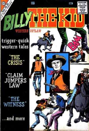 Billy the Kid #22 Comic Books - Covers, Scans, Photos  in Billy the Kid Comic Books - Covers, Scans, Gallery