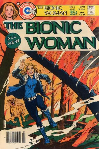 Bionic Woman #3 Comic Books - Covers, Scans, Photos  in Bionic Woman Comic Books - Covers, Scans, Gallery