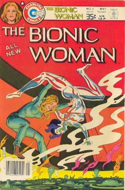Bionic Woman #4 Comic Books - Covers, Scans, Photos  in Bionic Woman Comic Books - Covers, Scans, Gallery