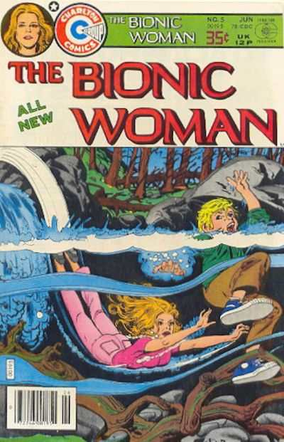 Bionic Woman #5 Comic Books - Covers, Scans, Photos  in Bionic Woman Comic Books - Covers, Scans, Gallery