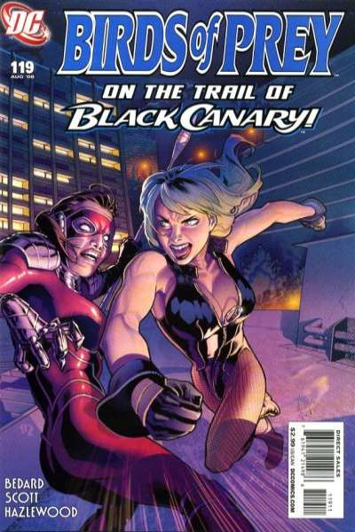 Birds of Prey #119 comic books for sale