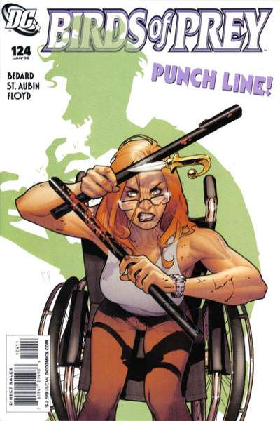 Birds of Prey #124 comic books for sale