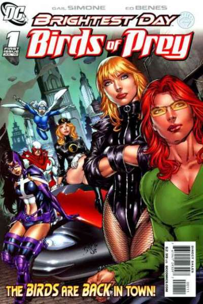 Birds of Prey #1 Comic Books - Covers, Scans, Photos  in Birds of Prey Comic Books - Covers, Scans, Gallery