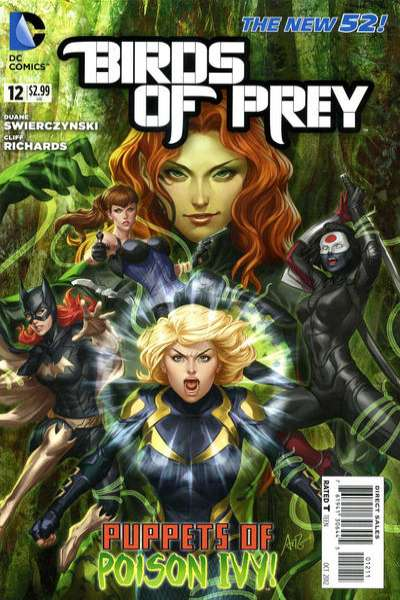 Birds of Prey #12 comic books - cover scans photos Birds of Prey #12 comic books - covers, picture gallery