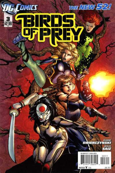 Birds of Prey #3 Comic Books - Covers, Scans, Photos  in Birds of Prey Comic Books - Covers, Scans, Gallery