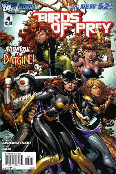 Birds of Prey #4 Comic Books - Covers, Scans, Photos  in Birds of Prey Comic Books - Covers, Scans, Gallery