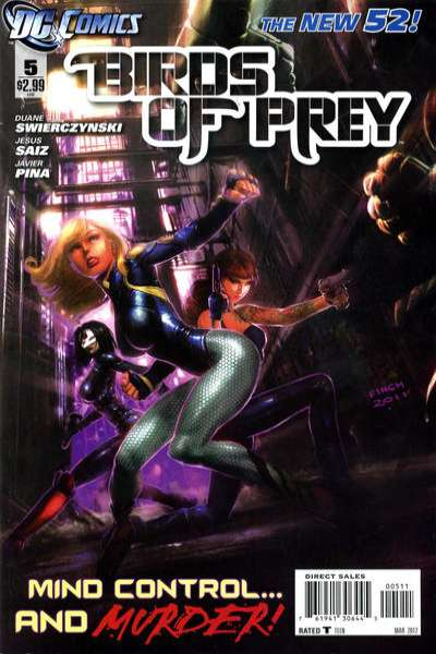 Birds of Prey #5 comic books for sale