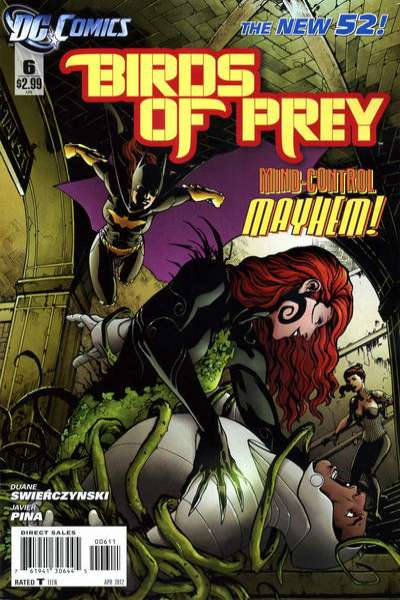 Birds of Prey #6 Comic Books - Covers, Scans, Photos  in Birds of Prey Comic Books - Covers, Scans, Gallery