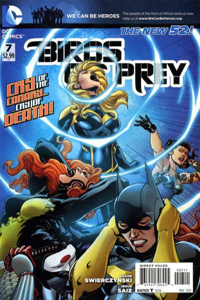 Birds of Prey #7 comic books - cover scans photos Birds of Prey #7 comic books - covers, picture gallery