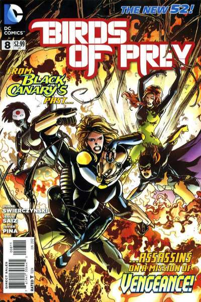 Birds of Prey #8 comic books - cover scans photos Birds of Prey #8 comic books - covers, picture gallery