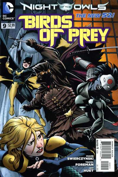 Birds of Prey #9 comic books - cover scans photos Birds of Prey #9 comic books - covers, picture gallery