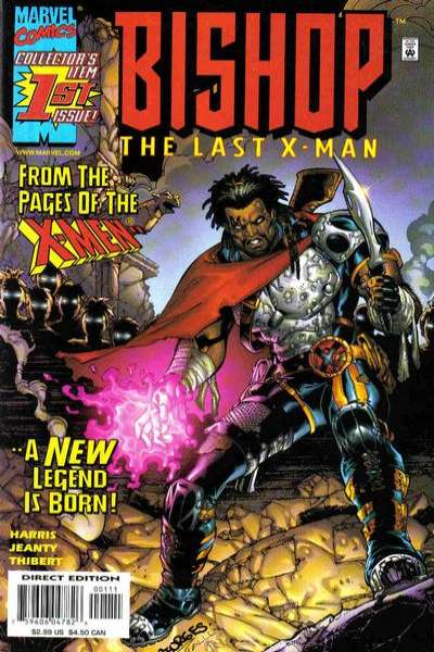 Bishop the Last X-Man #1 Comic Books - Covers, Scans, Photos  in Bishop the Last X-Man Comic Books - Covers, Scans, Gallery