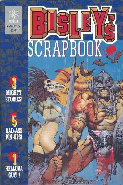 Bisley's Scrapbook #1 comic books - cover scans photos Bisley's Scrapbook #1 comic books - covers, picture gallery