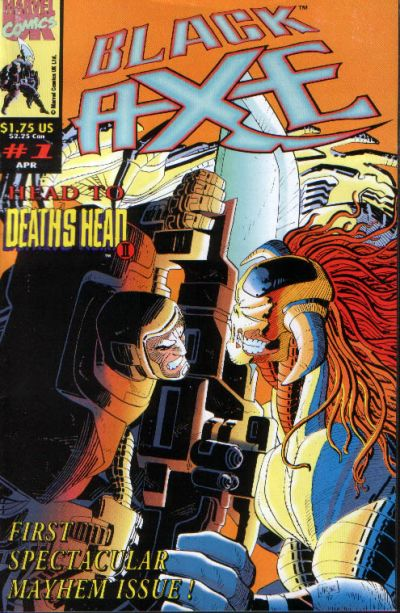 Black Axe comic books