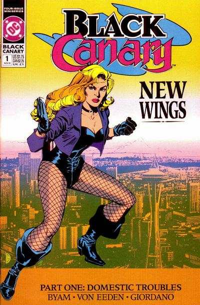 Black Canary comic books