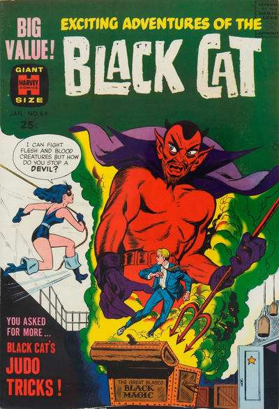 Black Cat Mystery #64 comic books for sale