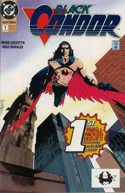 Black Condor comic books