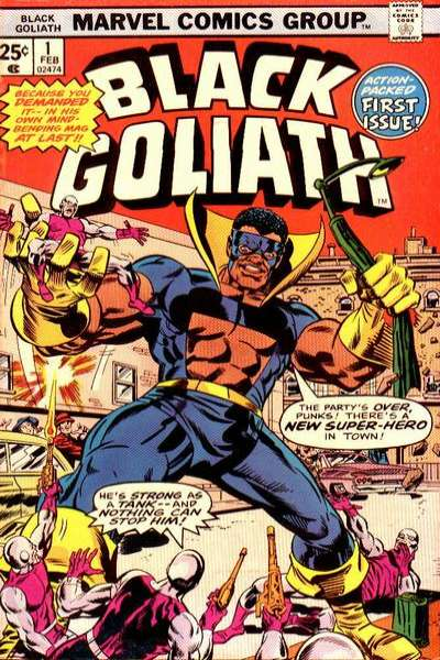 Black Goliath comic books