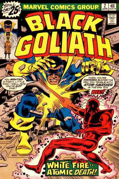 Black Goliath #2 comic books for sale