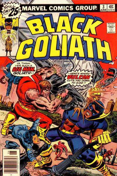 Black Goliath #3 comic books for sale