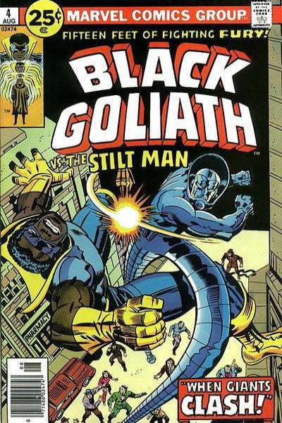 Black Goliath #4 comic books for sale