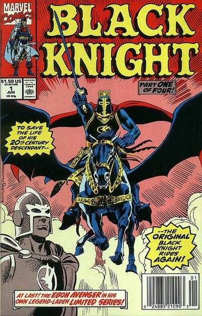 Black Knight #1 Comic Books - Covers, Scans, Photos  in Black Knight Comic Books - Covers, Scans, Gallery