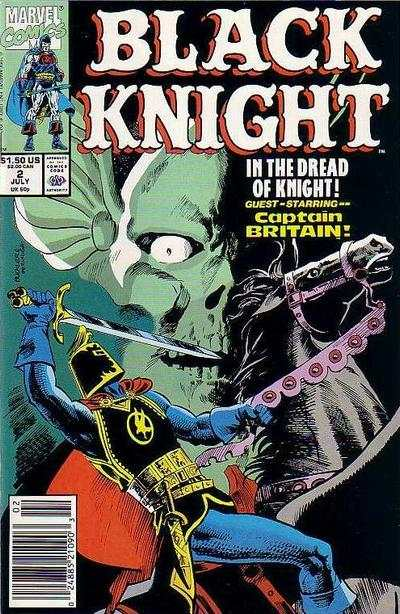 Black Knight #2 Comic Books - Covers, Scans, Photos  in Black Knight Comic Books - Covers, Scans, Gallery
