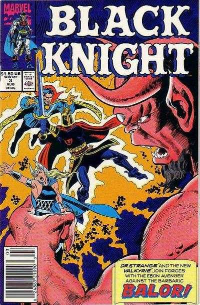 Black Knight #3 comic books - cover scans photos Black Knight #3 comic books - covers, picture gallery
