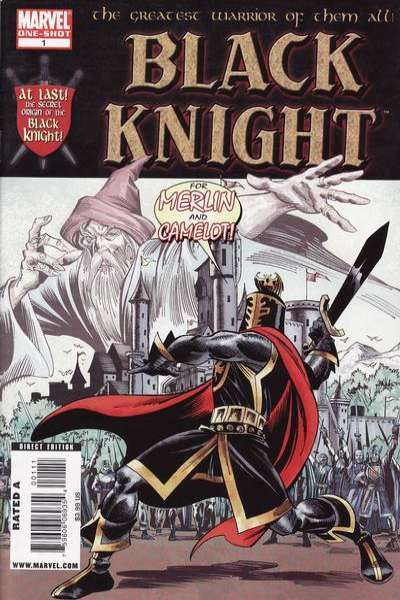 Black Knight #1 comic books - cover scans photos Black Knight #1 comic books - covers, picture gallery