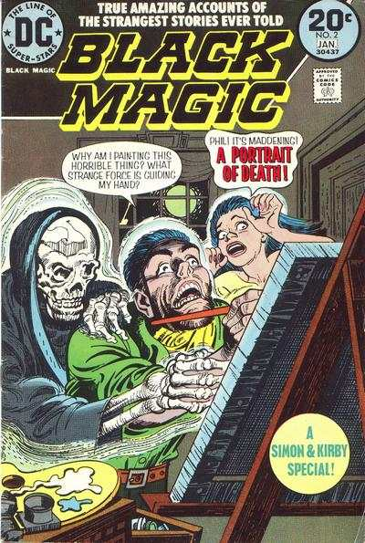 Black Magic #2 Comic Books - Covers, Scans, Photos  in Black Magic Comic Books - Covers, Scans, Gallery