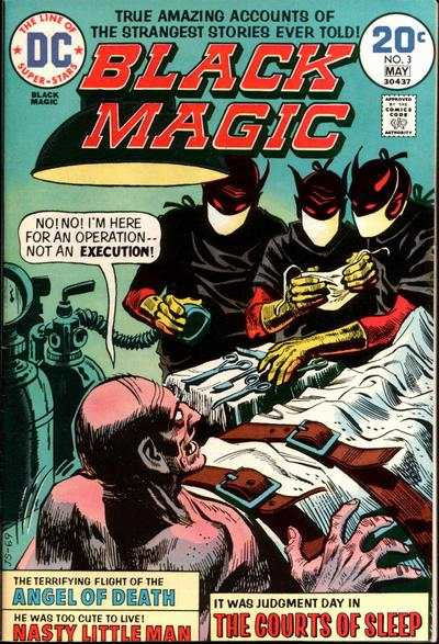 Black Magic #3 comic books - cover scans photos Black Magic #3 comic books - covers, picture gallery