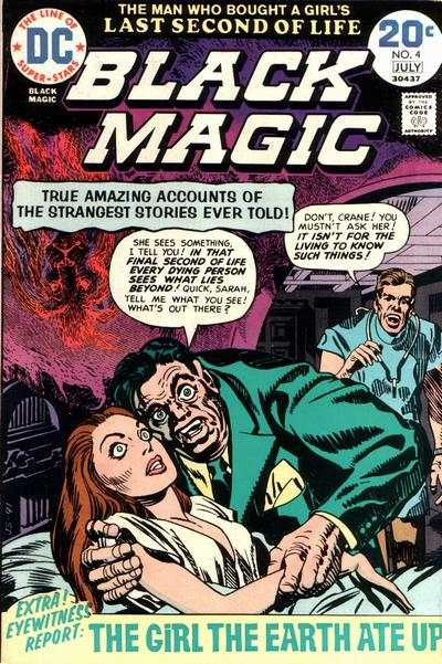 Black Magic #4 comic books - cover scans photos Black Magic #4 comic books - covers, picture gallery