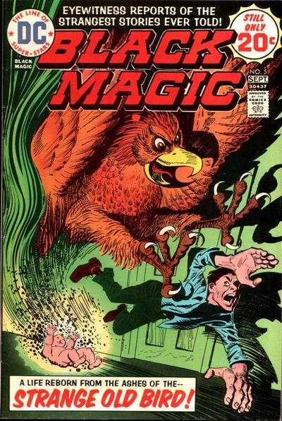 Black Magic #5 comic books - cover scans photos Black Magic #5 comic books - covers, picture gallery